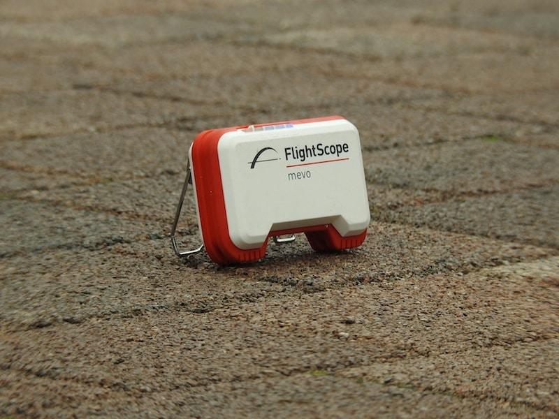 Ballflug messen mit Radar