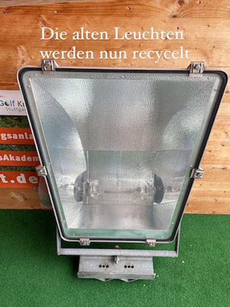 Recycling der Lampen