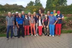 Golfabteilung-Gruppe