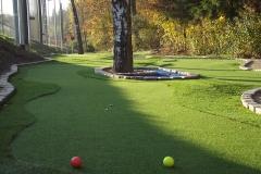 Mini Golfcourse mit 18 Bahnen