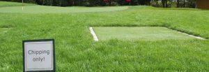 Chipping Grün der GolfKultur
