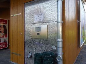Ballautomat der GolfKultur mit Ballkörben