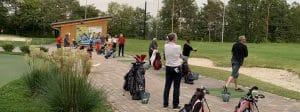 Golfer beim Training auf der GolfKultur