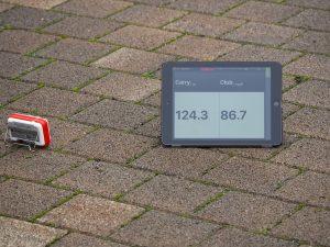 Längenmessung mit Radar