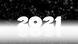Bild mit den Zahlen 2021