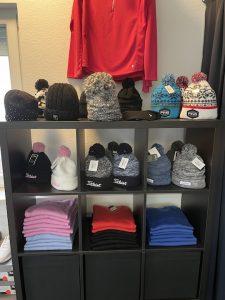 Aufnahme vom Pro Shop der GolfKultur
