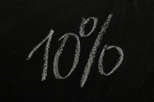 10 % Rabatt Aktion