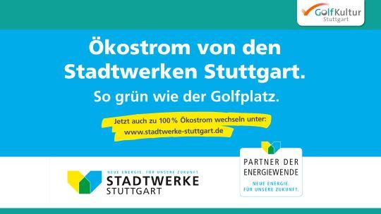 Motiv Stadtwerke Stuttgart für GolfKultur