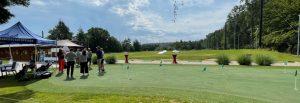 Menschen bei einem Event auf der GolfKultur